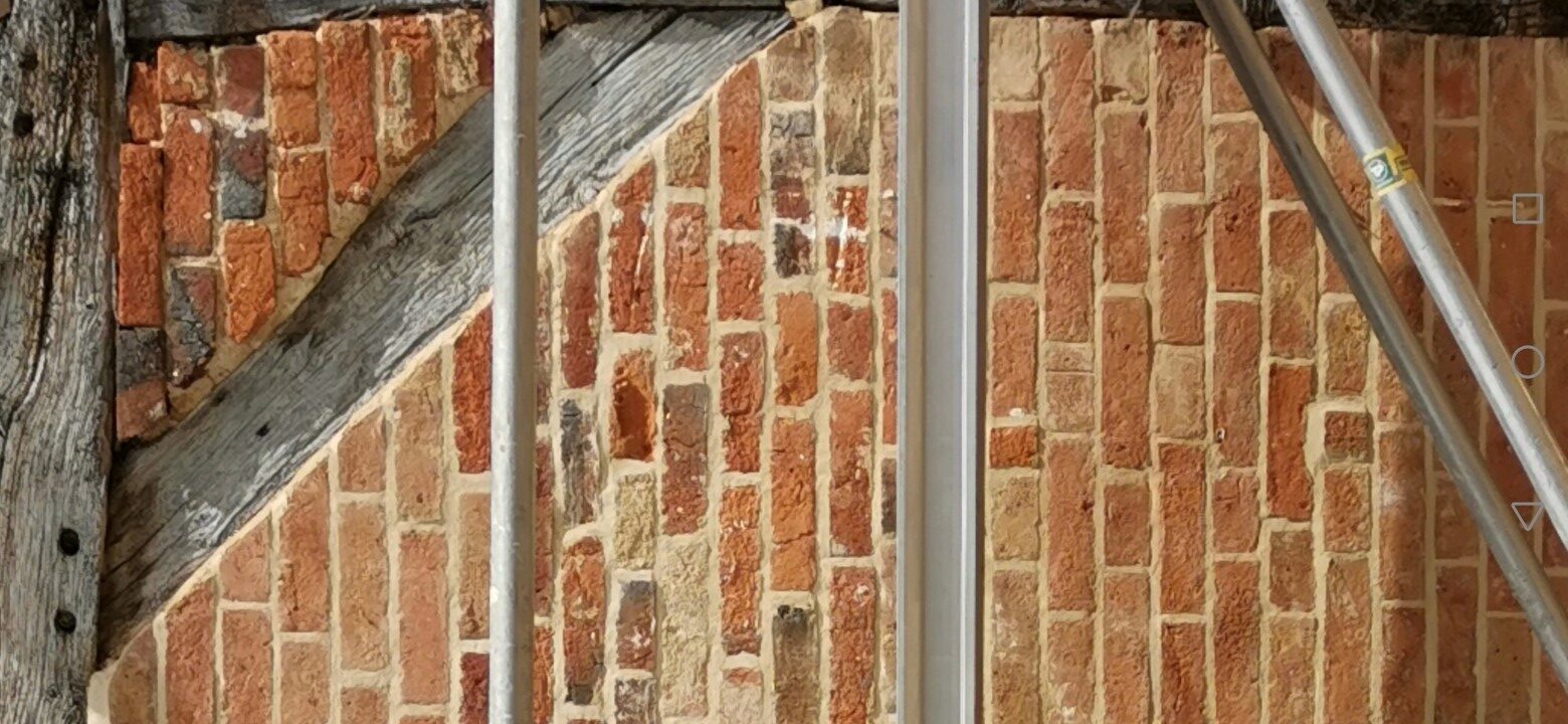 Listed Building Lime Pointing & Beam tying